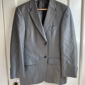 COPY - Men's Gray Pinstripe Suit by Material Lond…